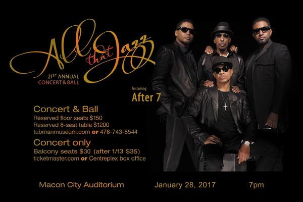 21st Annual All That Jazz Concert & Ball featuring After 7