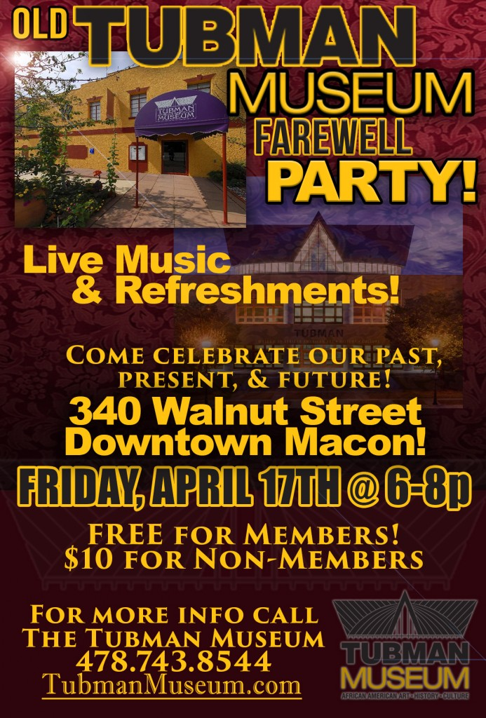 Old Tubman Museum Farewell Party