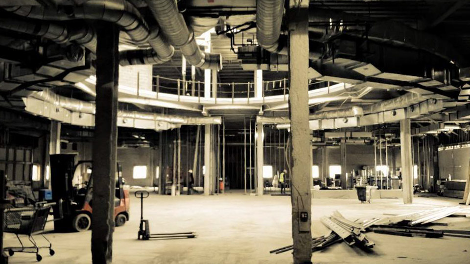Tubman Museum Construction