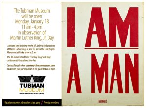 Tubman Museum Martin Luther King, Jr. Day